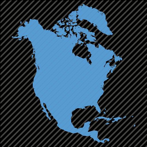 America, American, Continent, Location, Map, Navigation, North Icon