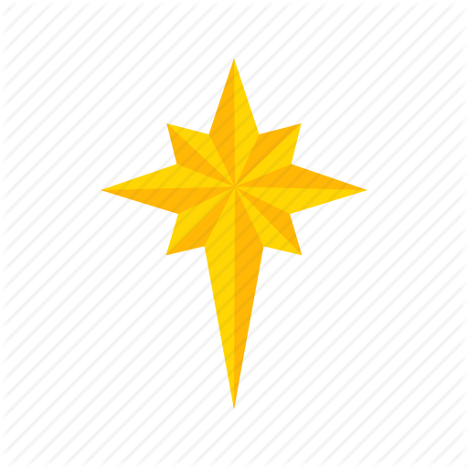 Decoration, Light, North Star, Star Icon