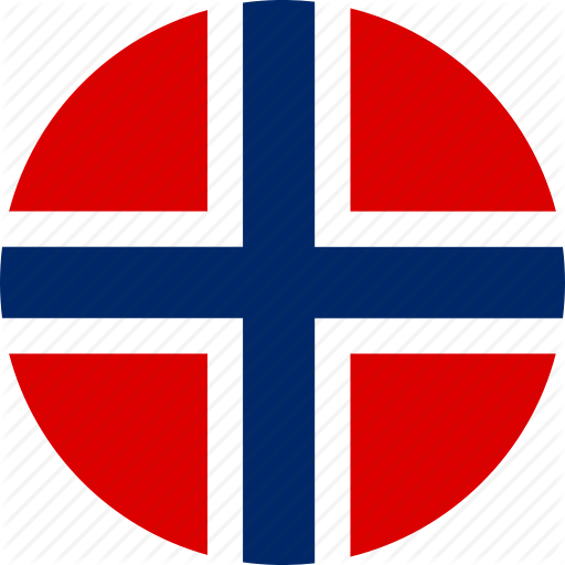Circle, Country, Emblem, Flag, National, Norway Icon