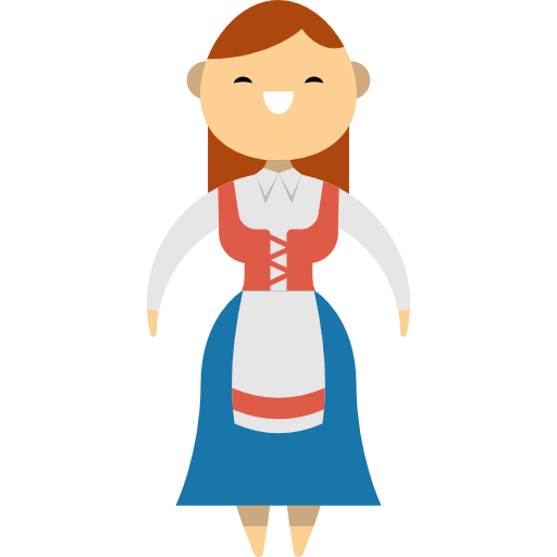 Traditional, Norwegian, People, Norway, Ethnic, Culture Icon
