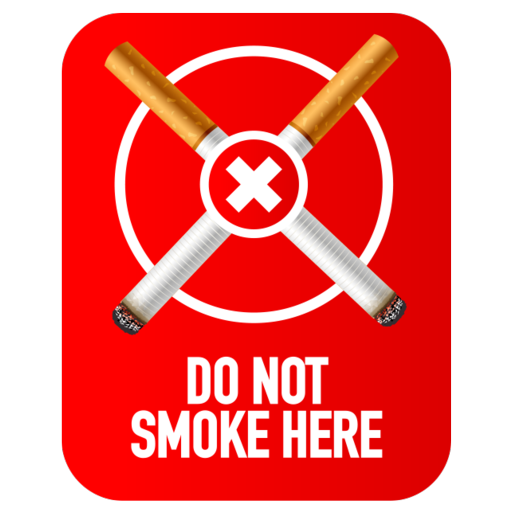 Do Not Smoke Here Symbol Icon