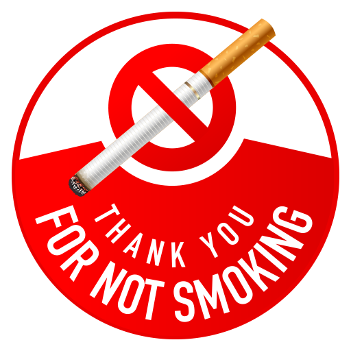 Thank You For Not Smoking Icon Icon