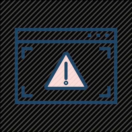 Alert, Network Not Found, Online Error, Webpage Error, Webpage