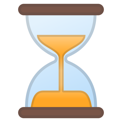 Hourglass Not Done Icon Noto Emoji Travel Places Iconset Google