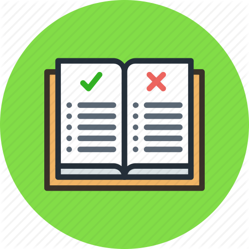 Book, Do, Education, History, Knowledge, List, Not, Rules Icon