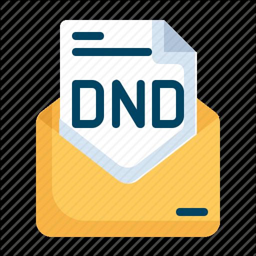 Disturb, Dnd, Do, Mail, Message, Not, Service Icon