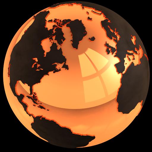Gold World Icon