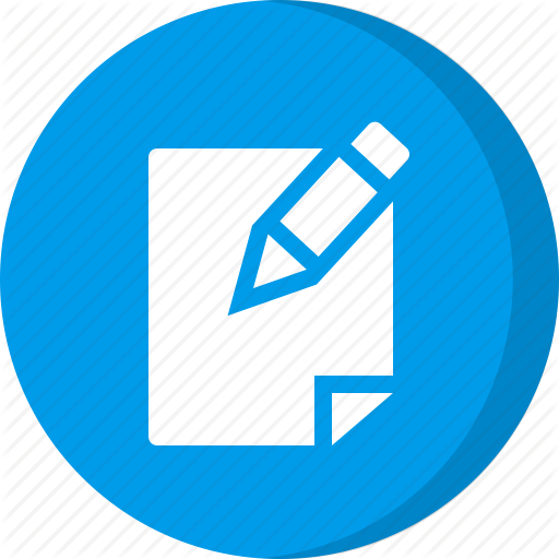 Create, Create Note, Edit Note, New Note, Note Icon