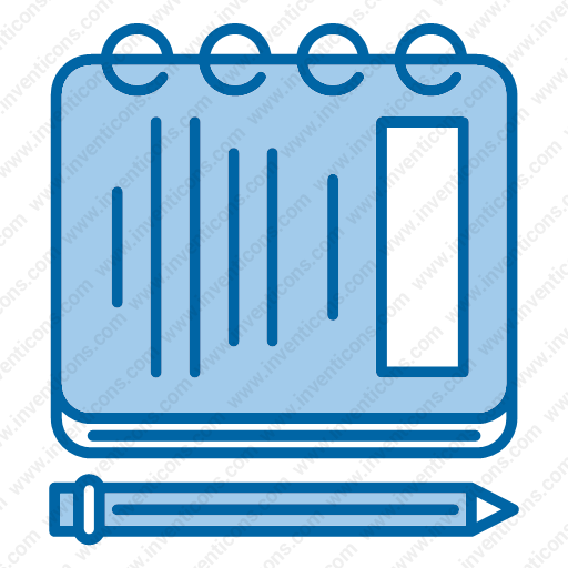 Download Notebook Icon Inventicons