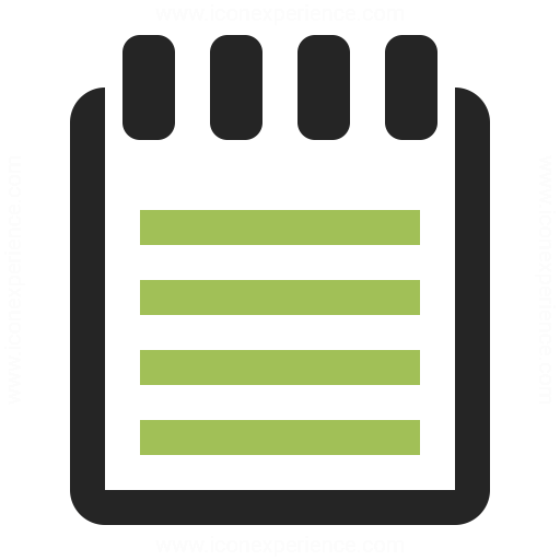Notebook Icon Iconexperience