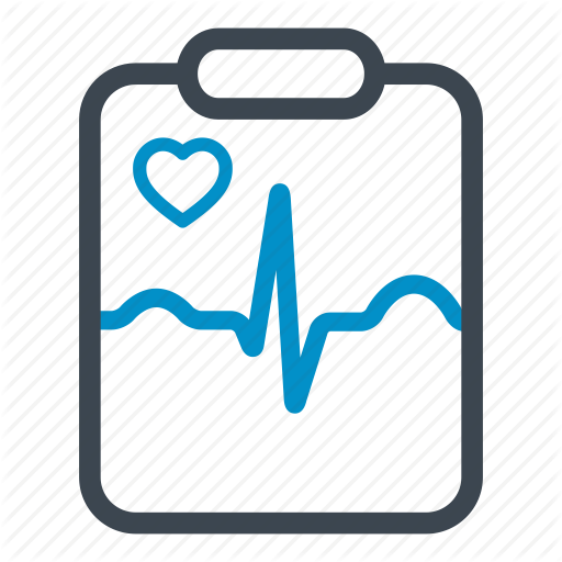 Cardiogram, Hospital, Medical, Medical Result, Notepad Icon
