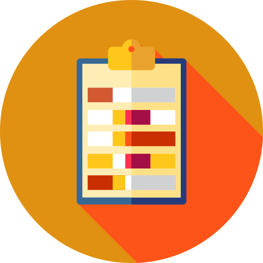 Notepad Check Mark Png Icon