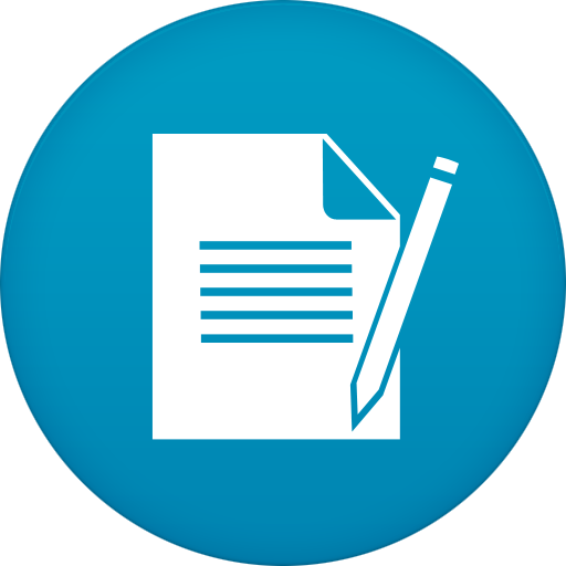 Notepad Icon Free Of Circle Addon Icons