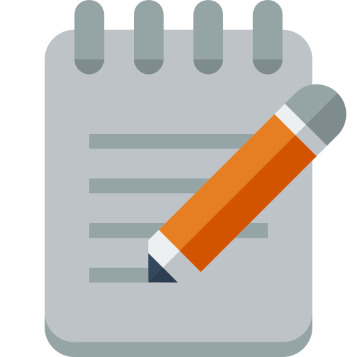 Notepad Icon Small Flat Iconset Paomedia