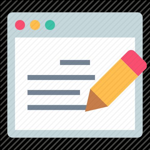 App, Editor, Notes Icon