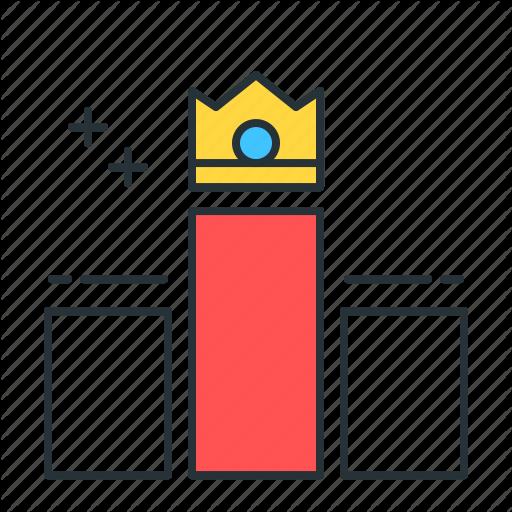 Chart, Diagram, Graph, Leader Icon