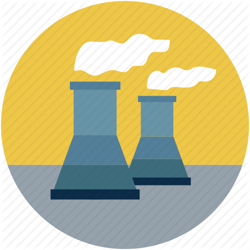 Atomic Plant, Atomic Plant Chimneys, Atomic Power Plant, Nuclear