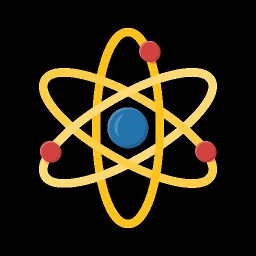 Atom, Orbital, Science, Education, Nucleus, Chemistry Icon