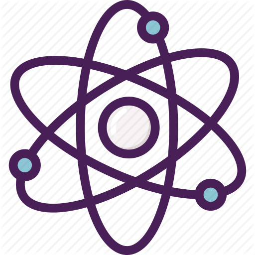 Atom, Chemical, Electrons, Nucleus, Small Icon