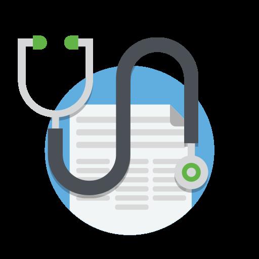 Doctor, Drug, Healthcare, Medical, Medicine, Notes, Stethoscope Icon
