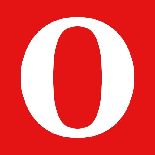 O, Opera, Null, Zero Icon