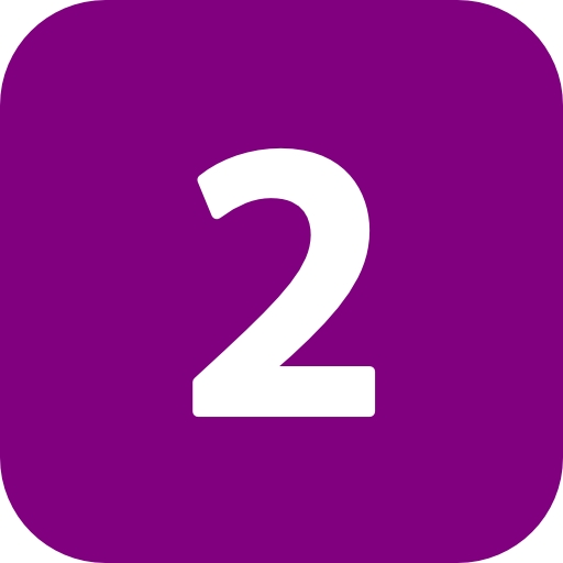 Best Photos Of Purple Number Icon