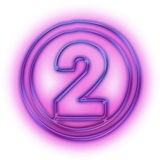 Number Purple Icon