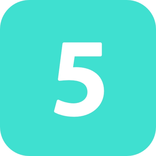 Transparent Icon Number
