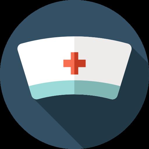 Cap, Bonnet, Healthcare And Medical, Nurse, Hospital Icon