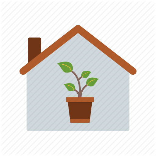 House, Nursery, Plant Icon