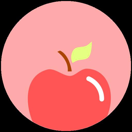 Apple, Fitness, Food, Heath, Nutrition Icon