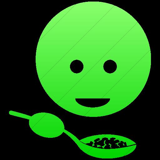 Simple Ios Neon Green Gradient Ocha Humanitarians