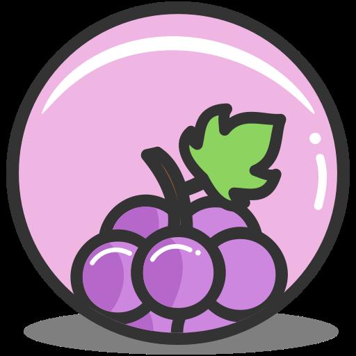 Grape, Nutrition Icon