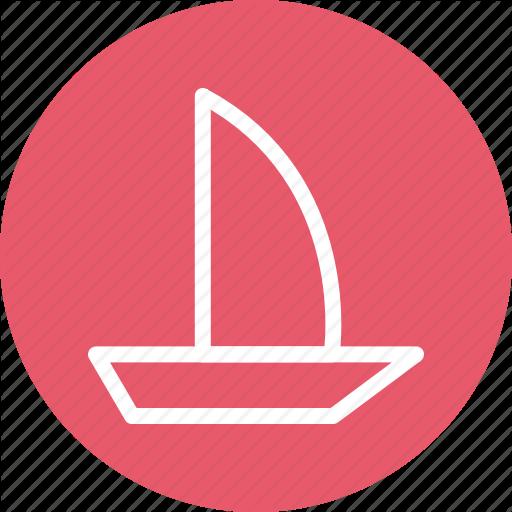 Boating, Canoe, Canoe Paddle, Canoe With Oar, Oars, Oars Tool Icon
