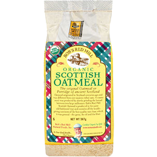 Bobs Red Mill Organic Scottish Oatmeal
