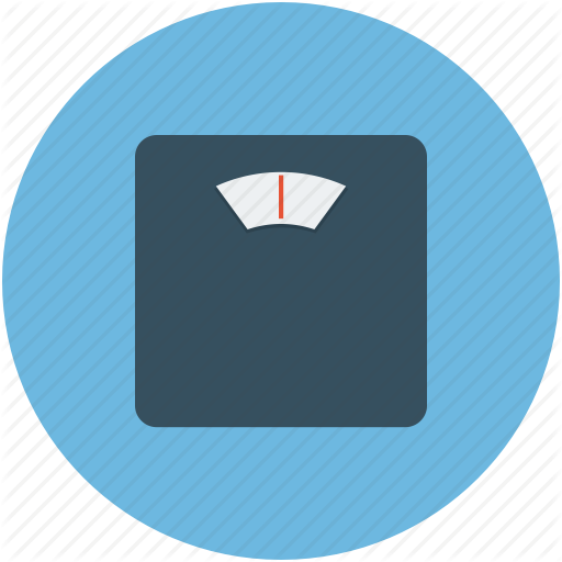 Bathroom Scale, Obesity Scale, Scale, Weight Scale Icon