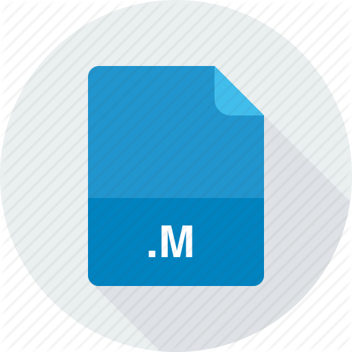 M, Objective C Implementation Icon