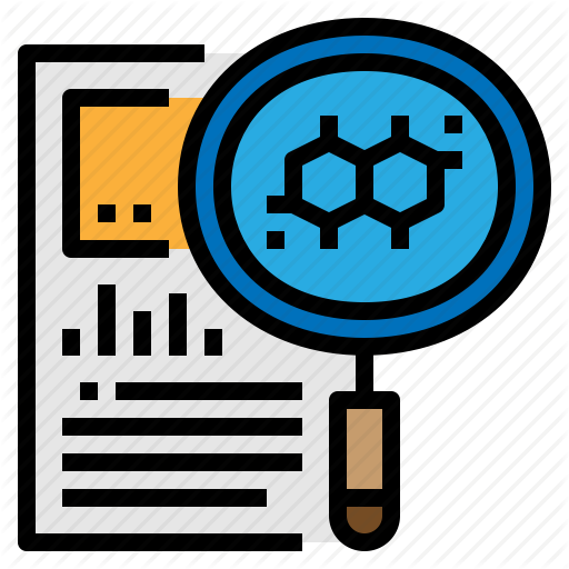 Analysis, Observation, Research, Science Icon