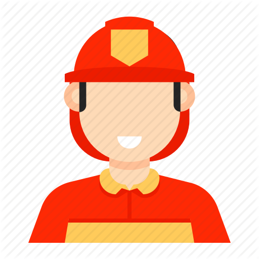 Fighter, Fire, Fire Fighter, Fireman, Man, Occupation Icon