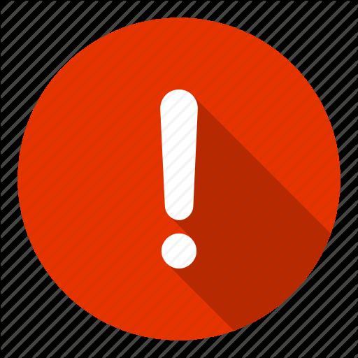 Alert, Caution, Danger, Error, Help, Info Icon