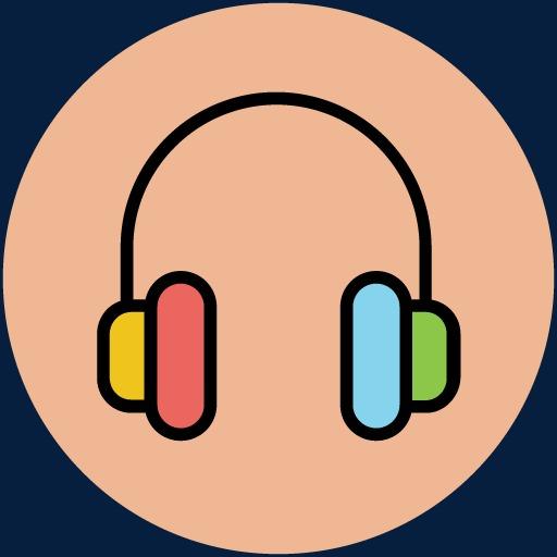 Music Icon Artwork, Music Clipart, Silhouette Art, Cartoon Art