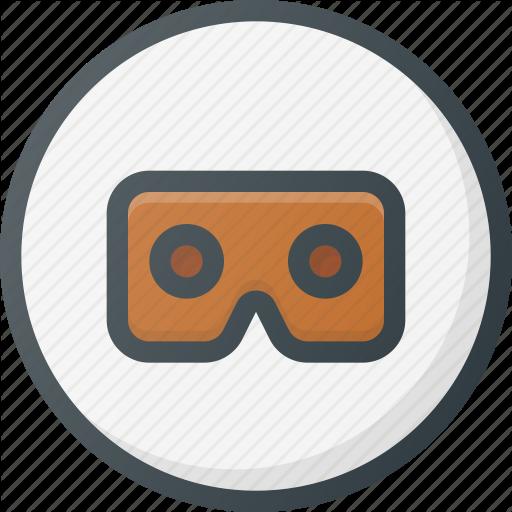 Degree, Motion, Rift, Simulation, Virtual, Vr Icon