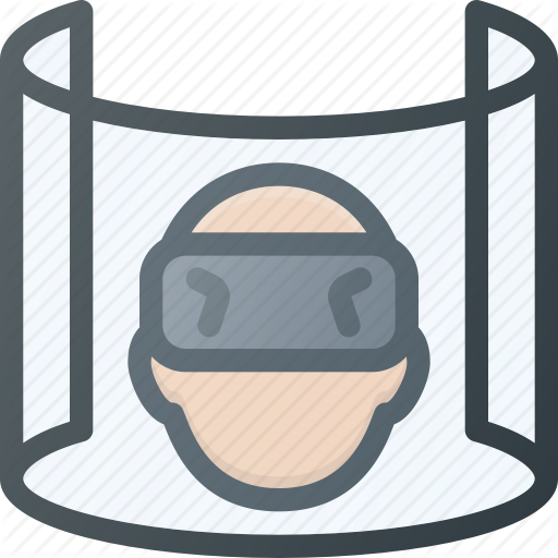 Device, Reality, Simulation, Technology, User, Virtual, Vr Icon