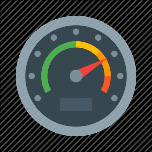 Dashboard, Gauge, Meter, Odometer, Speed, Speedometer Icon