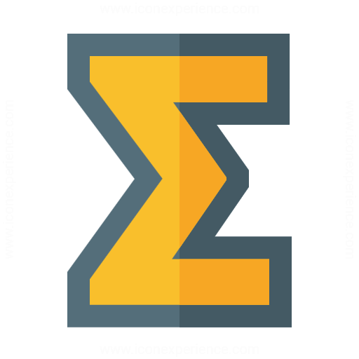 Iconexperience G Collection Symbol Sum Icon