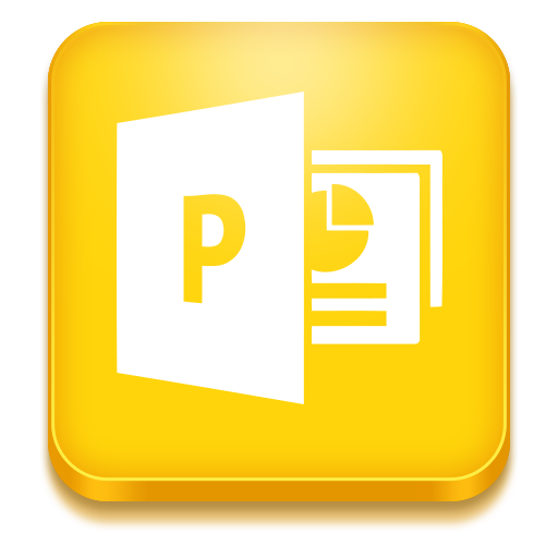 Powerpoint Icon Microsoft Office Iconset Iconstoc