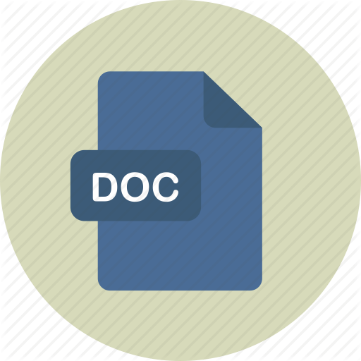 Doc, Documentfile, Msdoc, Word Icon