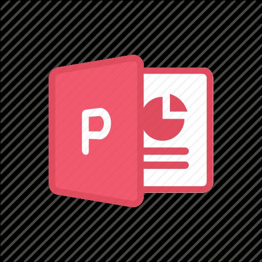 Bloomies, Microsoft, Office, Powerpoint, Presentation, Windows Icon