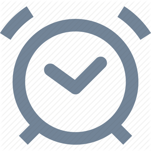 Alarm, Clock, Line, Office, Ringing, Time Icon