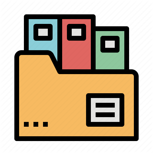 Document, Files, Folders, Interface, Office Icon